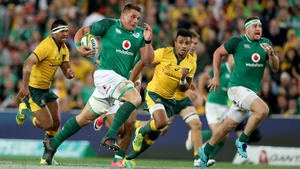CJ Stander in action against Australia