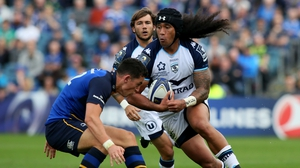 Joe Tomane in action against Leinster in the Champions Cup last season