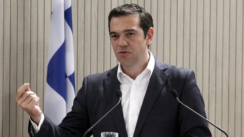Macedonia will take a new 'compound name with a geographical denominator,' Alexis Tsipras said