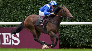The brilliant Battaash put up a remarable performace on the clock to win the 2017 Prix de l'Abbaye at Chantilly
