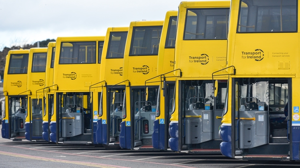 Dublin Bus said the level of anti-social behaviour is relatively low