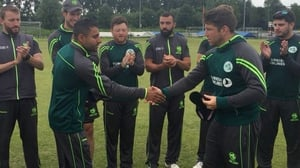 Simi Singh made his T20 debut (Pic: Cricket Ireland Twitter)