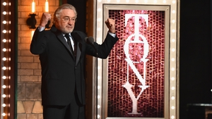 Robert De Niro criticised Donald Trump at the Tony Awards on Sunday