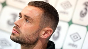 Damien Delaney won an FAI Youth Cup with Cork City in 1999/00 and would break into the first team squad that season, playing alongside his new manager John Caulfield