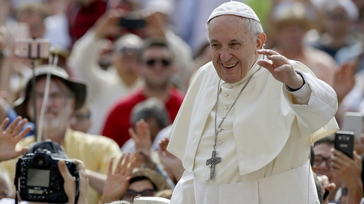 Pope Francis voices support for same-sex civil union's
