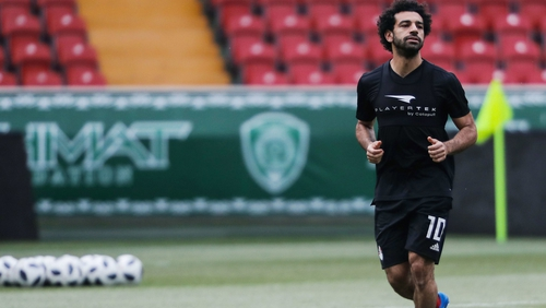 Mohamed Salah is fit again and ready to face Uruguay