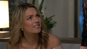Jasmine confides in Irene about Colby on Home and Away