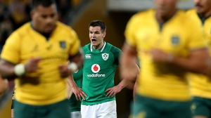 Johnny Sexton will win his 75th international cap against Australia this weekend