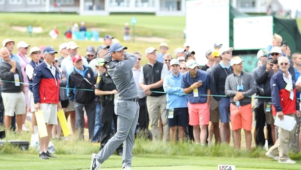 Ryan Fox tied for 20th, four shots off leaders at US Open