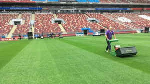 SIS Pitches was selected to design, construct and install six of the 12 stadium pitches for Russia 2018