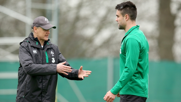 Joe Schmidt says Conor Murray and his Irish team-mates must control their temperment