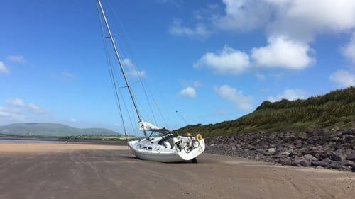 Seabiscuit is currently lying below Waterville Golf Course (Pic: Éanna Bushe)