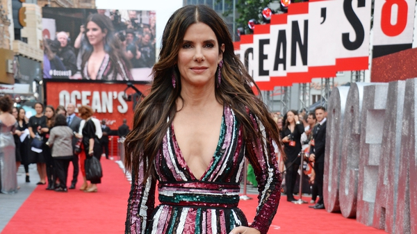 Sandra Bullock at the European premiere of Ocean's 8 in London