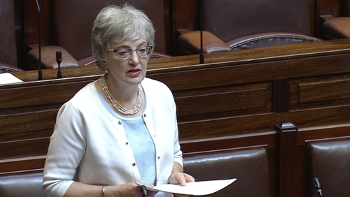 Katherine Zappone told the Dáil that people were 'lied to and denied information about their true identity'