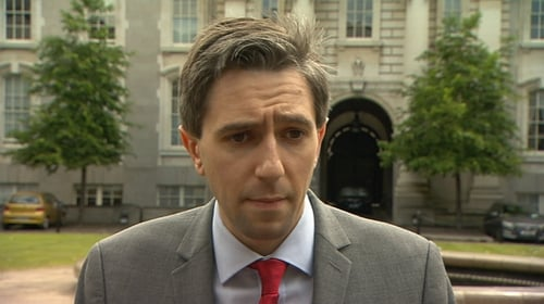 Simon Harris said it would provide certainty about what would happen once the budget was passed