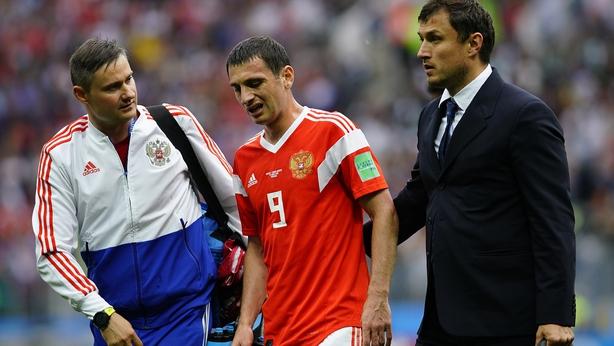 Russian Federation  5 Saudi Arabia 0