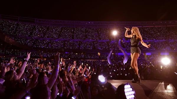 Taylor Swift plays Croke Park this weekend