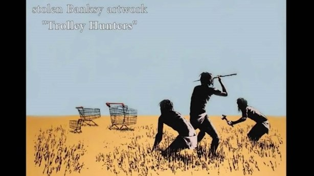 Thief steals €30K Banksy artwork from Toronto exhibition