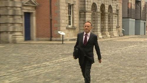 Paul Reynolds has been giving evidence about RTÉ broadcasts
