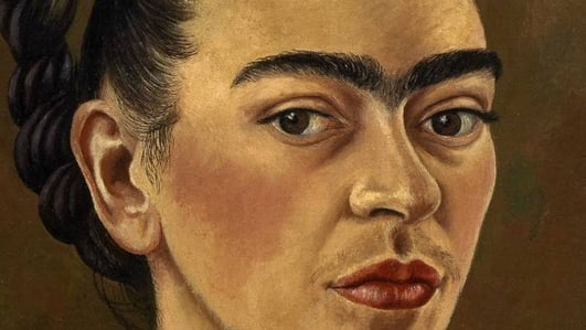 """Review:  """"Frida Kahlo: Making Her Self Up"""" at the V&A London"""