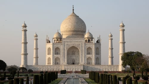 India's Taj Mahal is one the most iconic World Heritage Sites.