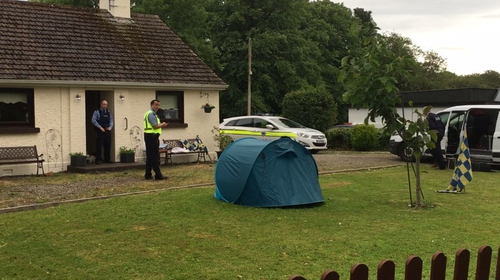 Both men were airlifted to hospital with burn injuries after the incident