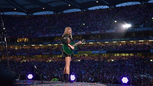 Taylor Swift in Croke Park as part of her Reputation Stadium Tour