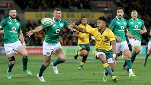 Australia host Ireland in Melbourne