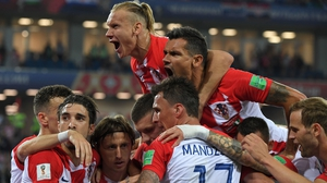 Croatia take on Russia for a semi-final spot