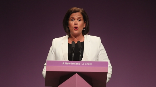 Mary Lou McDonald said that those who want to exclude Sinn Féin from government should 'wake up and smell the coffee'