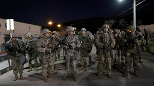 About 28,500 US troops are stationed in South Korea