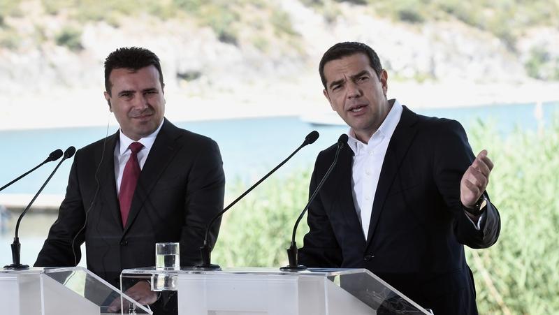 Image result for tsipras-zaev prespes