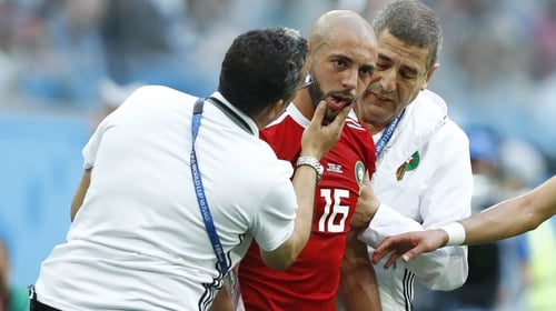 Nordin Amrabat is out of Morocco's next game