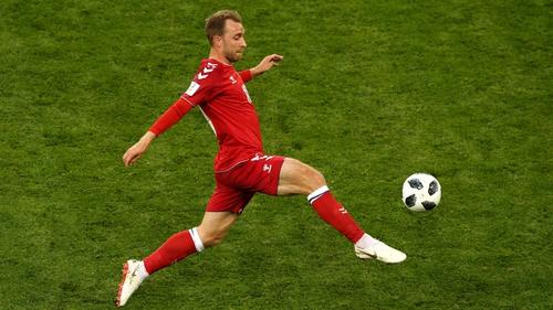 Christian Eriksen failed to impress against Peru