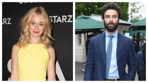 Aidan Turner is reportedly dating US actress Caitlin Fitzgerald