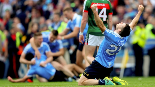 Dublin and Mayo players complained after their images were used without permission