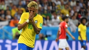 Neymar could not lead Brazil to an opening win - the PSG man was on the receiving end of plenty of Swiss challenges