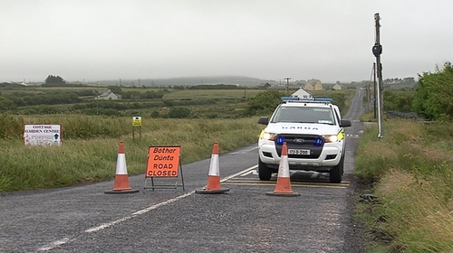The incident happened at around 4.15am at Caherogan, Miltown Malbay