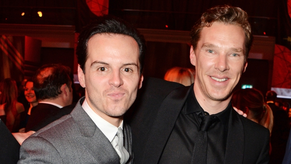 "Andrew Scott and Benedict Cumberbatch - ""There was no rivalry"""