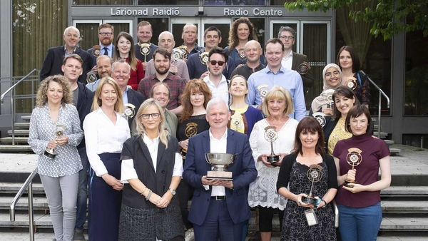 Along with the top accolade, RTÉ also won 41 awards in the radio categories, including 24 medals for programmes on RTÉ Radio 1 and RTÉ lyric fm
