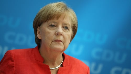 The German Chancellor said a solution could only be reached through sensible dialogue