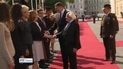 Six One News (Web): Higgins visiting Latvia for independence centenary