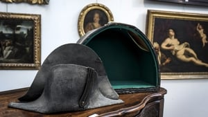 Napoleon wore his hats sideways, so he could be easily recognised on the battle field