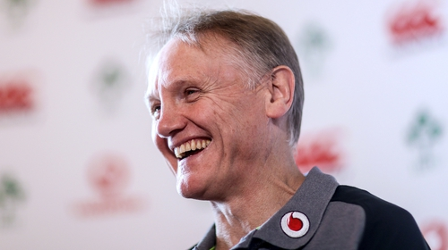 Joe Schmidt still has two years to run on his current contract