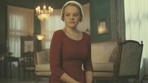 Elizabeth Moss in The Handmaid's Tale
