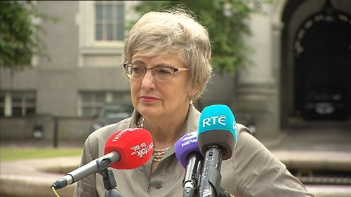 Katherine Zappone confirmed the extension to the deadline for the commission's work