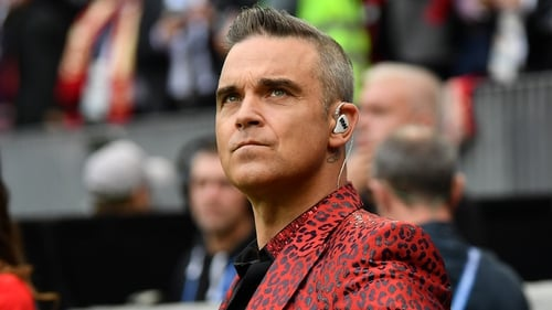 Robbie Williams: ''It was my body and mind telling me I shouldn't go anywhere, that I couldn't do anything.""