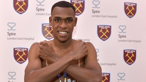 "Issa Diop: ""I hope to help the team win lots of games and make the fans happy."""
