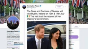 Six One News (Web): British Royal couple to visit Dublin next month
