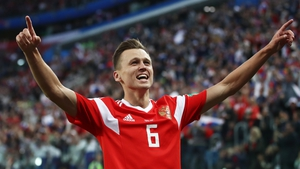 Denis Cheryshev scored four goals in Russia's run to the World Cup quarter-finals